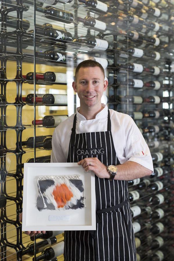 Thomas Barta - 2015 Winner Best Ora King Dish NZ (Harbourside Ocean Bar & Grill, Auckland)