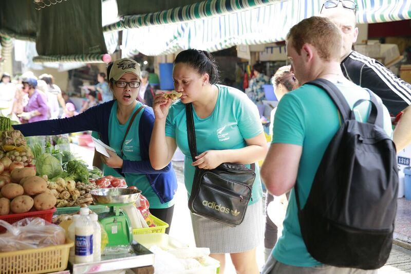 tuaine at market
