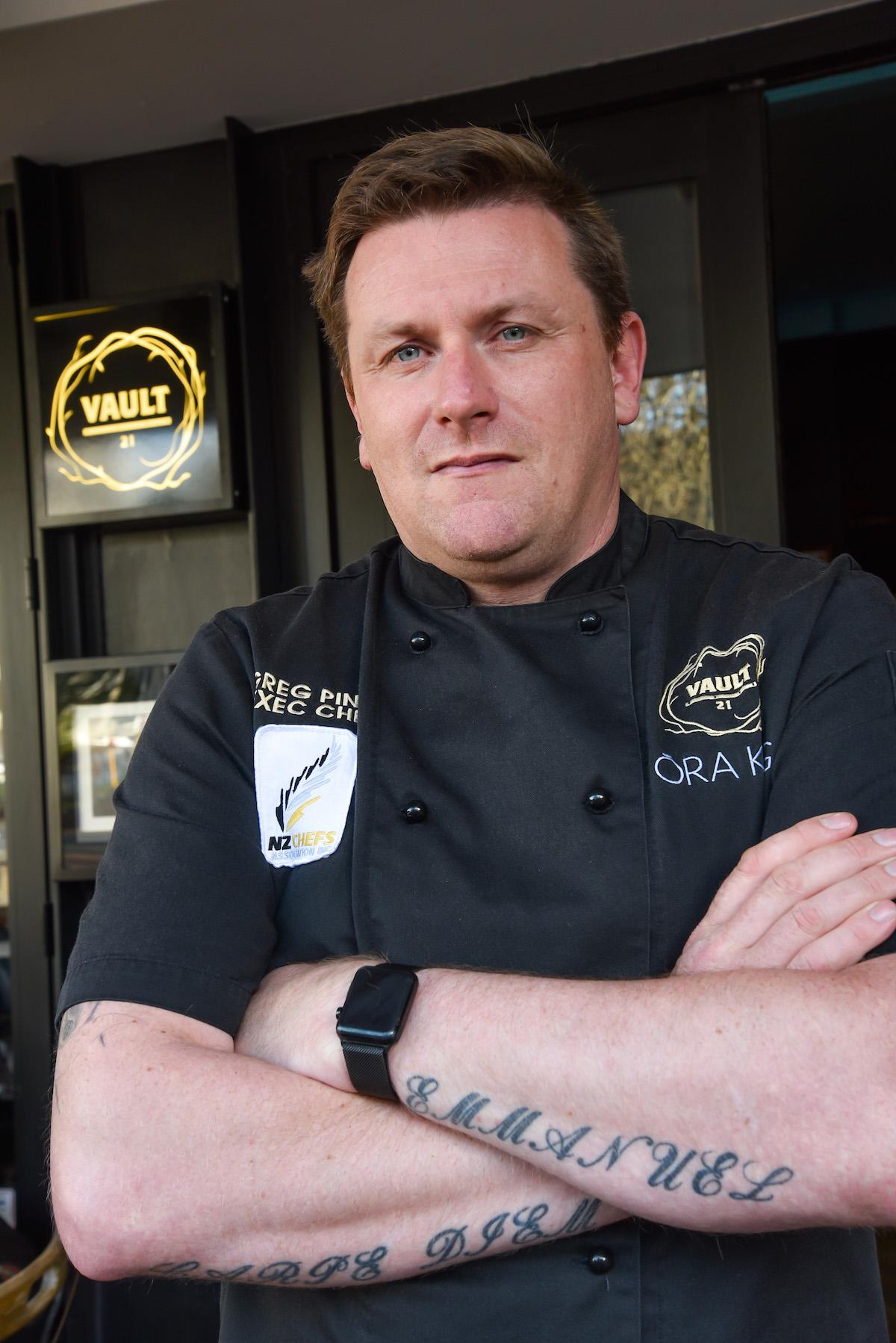 Vault 21 chef Greg Piner