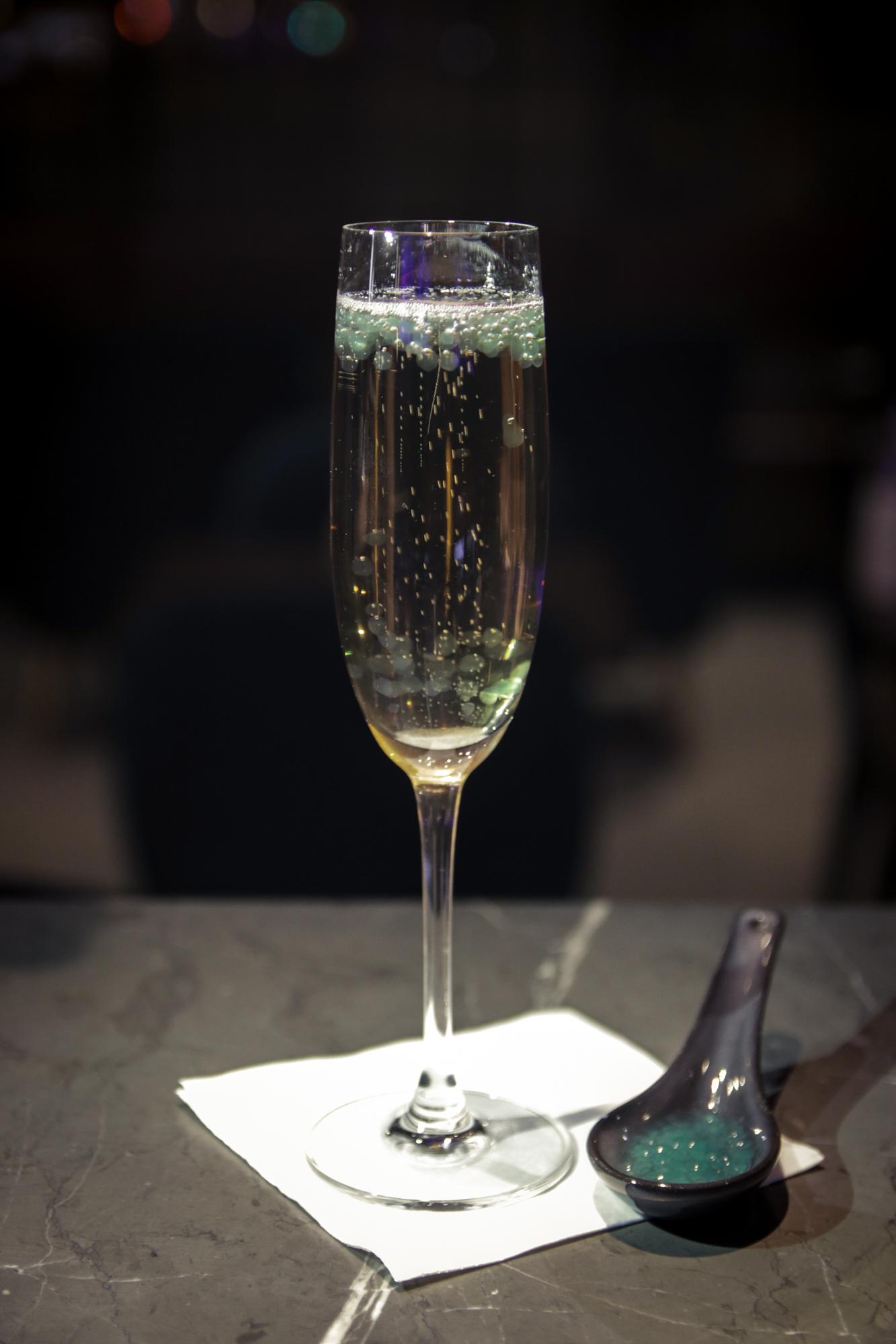 The futuristic Ziggy Starman cocktail from Social Wine Bar