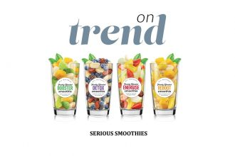 Serious Smoothies pre-portioned smoothie packs