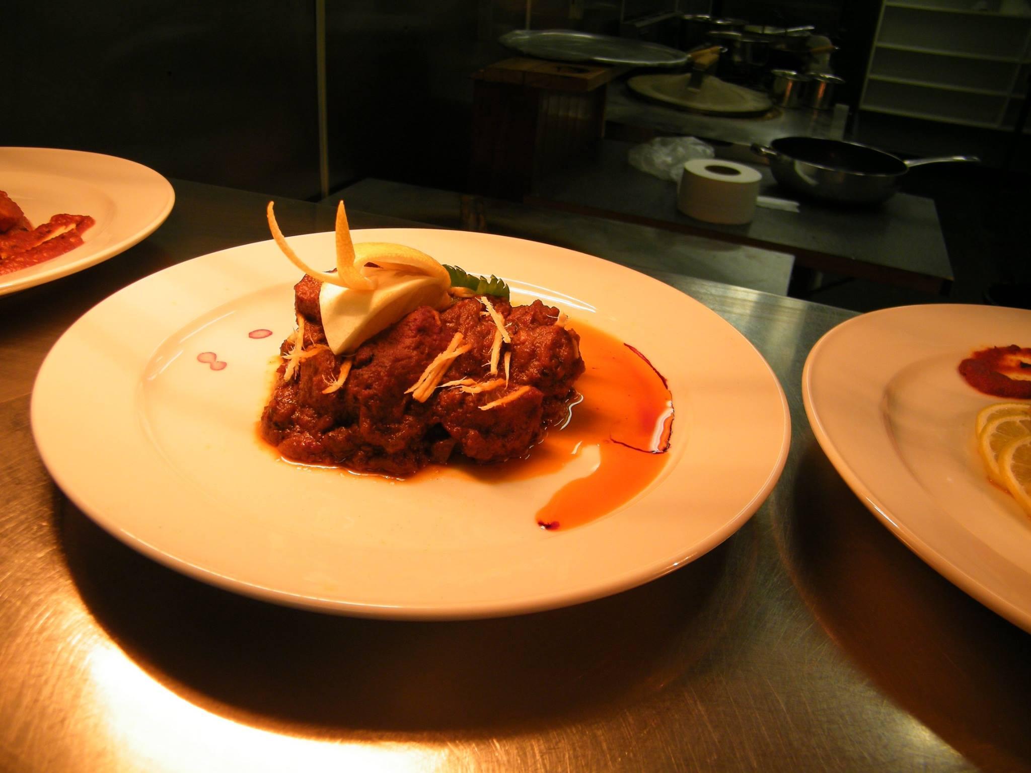 A Bangladeshi dish at Nobanno restaurant in Christchurch