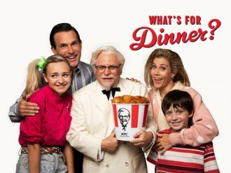 Jason Alexander appears as Colonel Sanders in a new KFC ad