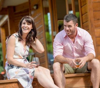 Laura Tinnelly and Nick Candy of TINCAN Wines