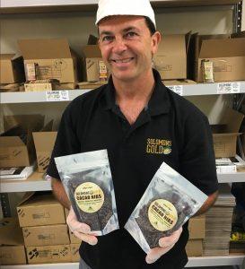 Solomon's Gold general manager Glenn Yeatman