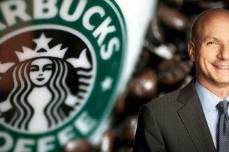 Starbucks new CFO Patrick Grimsen