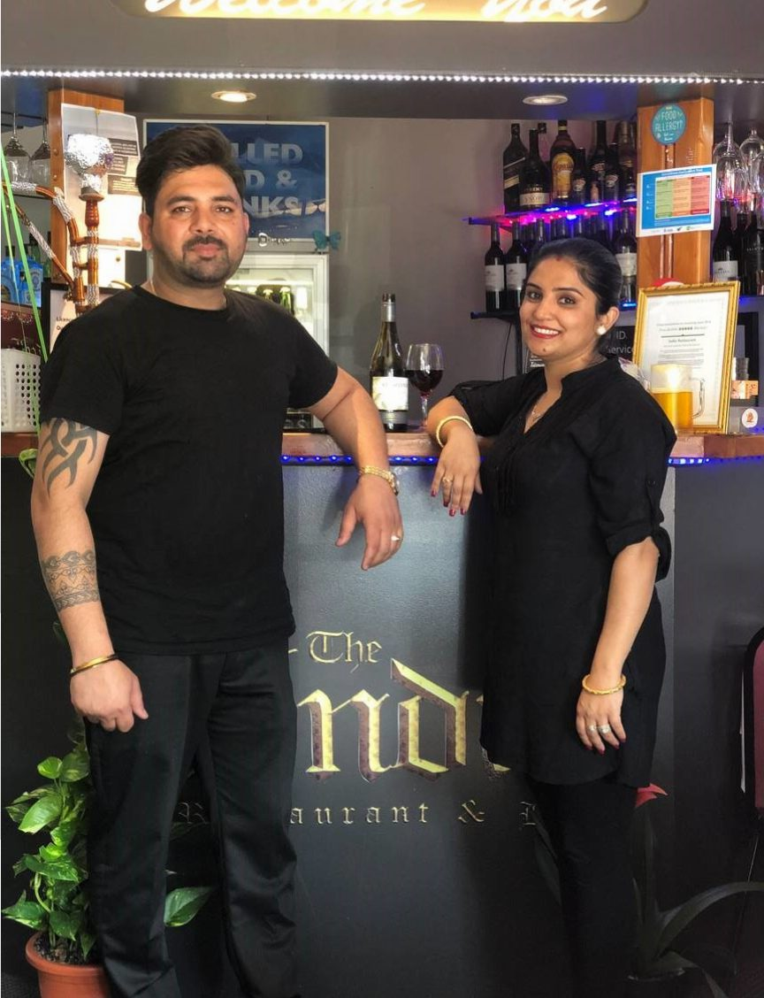 Mukesh and Ruby Sharma - Owners