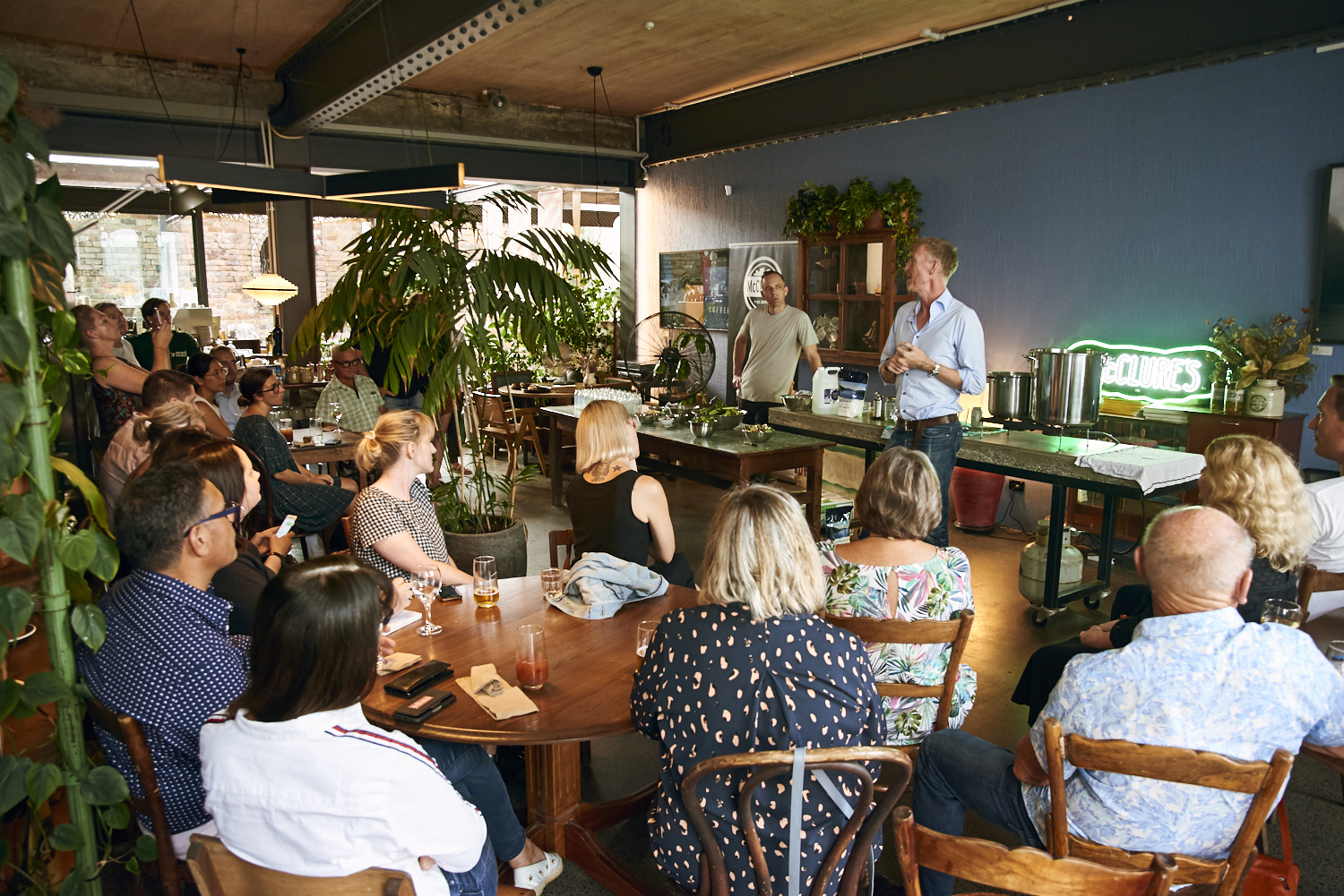 McClure's Pickle Masterclass at Camper Coffee, Newmarket credit IVDM Photography