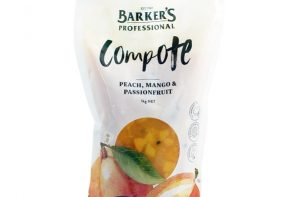 Kitchen Essentials: Barker's Professional Peach, Mango & Passionfruit Compote