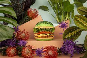 L.A Ghost Kitchen Serves Gram-Worthy Neon Burger